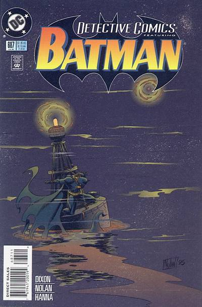 Cover for Detective Comics (DC, 1937 series) #687 [Direct Edition]