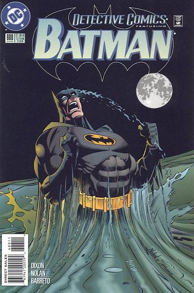 Cover for Detective Comics (DC, 1937 series) #688
