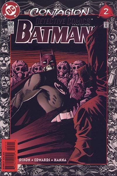 Cover for Detective Comics (DC, 1937 series) #695