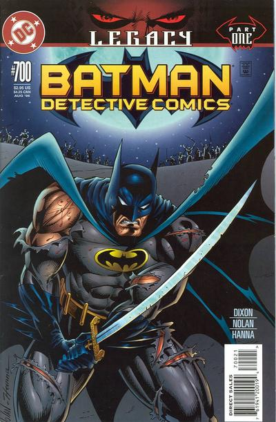 Cover for Detective Comics (DC, 1937 series) #700 [Non-Enhanced Direct Market Cover]