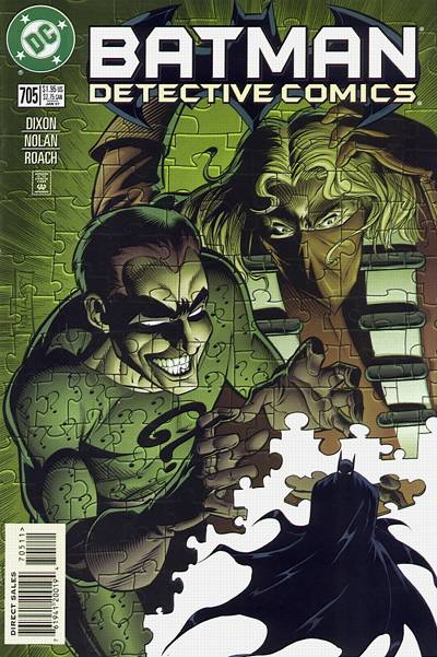Cover for Detective Comics (DC, 1937 series) #705