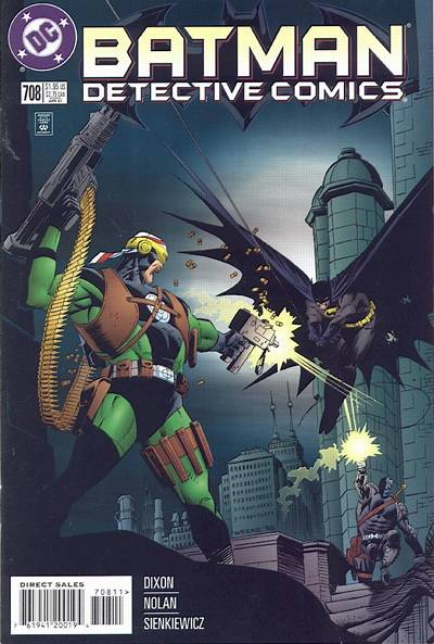 Cover for Detective Comics (DC, 1937 series) #708 [Direct Edition]