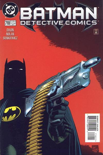 Cover for Detective Comics (DC, 1937 series) #710