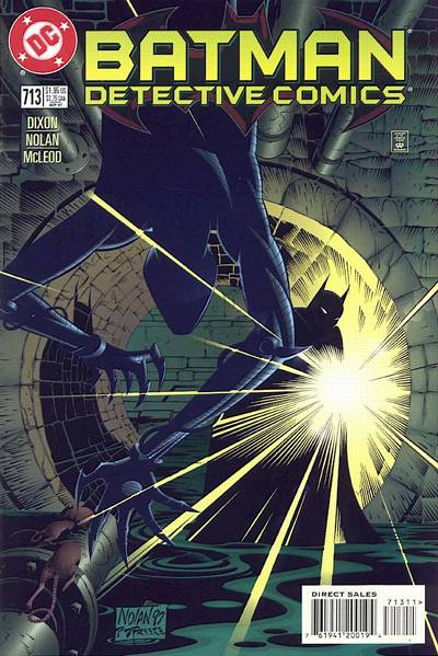 Cover for Detective Comics (DC, 1937 series) #713