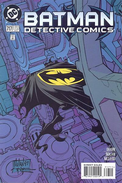 Cover for Detective Comics (DC, 1937 series) #717 [Direct Edition]