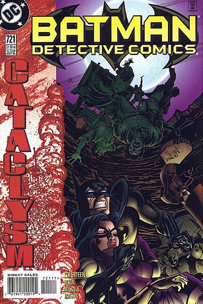 Cover for Detective Comics (DC, 1937 series) #721 [Direct Edition]