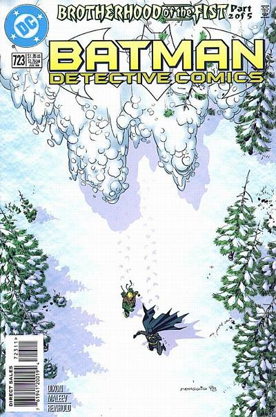 Cover for Detective Comics (DC, 1937 series) #723