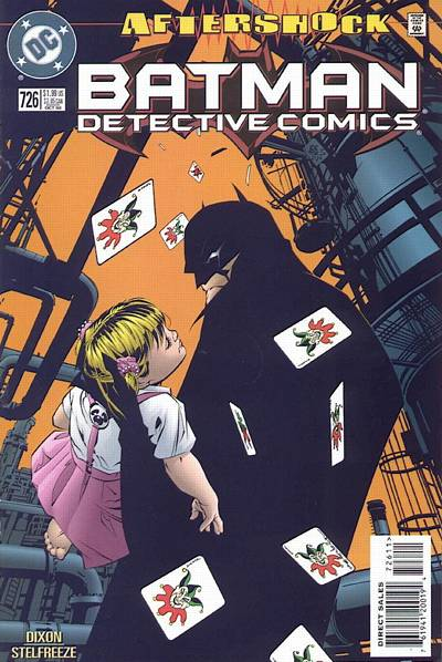 Cover for Detective Comics (DC, 1937 series) #726