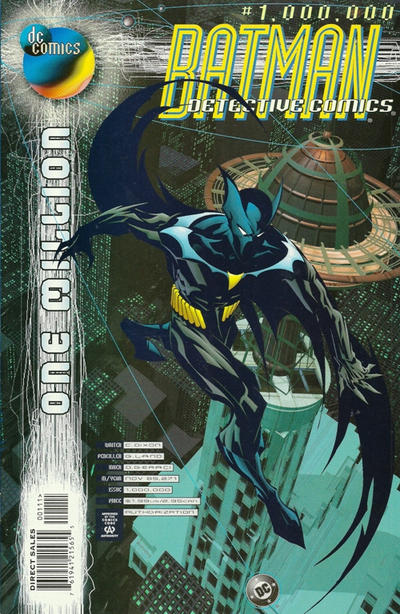 Cover for Detective Comics (DC, 1937 series) #1,000,000 [Direct Sales]