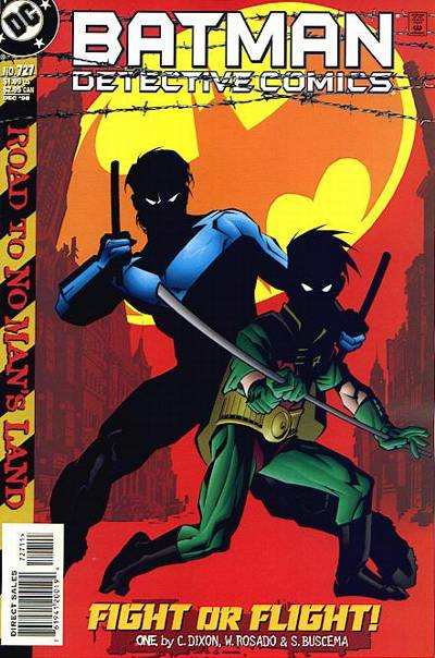 Cover for Detective Comics (DC, 1937 series) #727