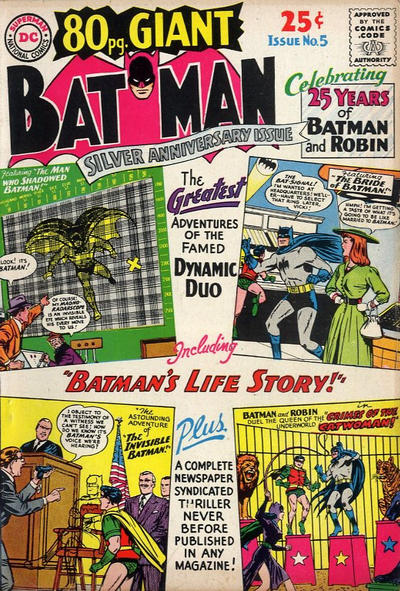 Cover for 80 Page Giant Magazine (DC, 1964 series) #5