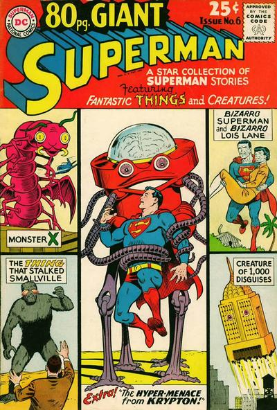 Cover for 80 Page Giant Magazine (DC, 1964 series) #6