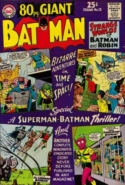 Cover for 80 Page Giant Magazine (DC, 1964 series) #12