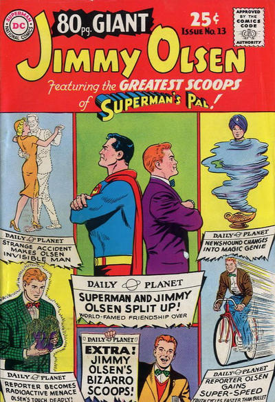 Cover for 80 Page Giant Magazine (DC, 1964 series) #13