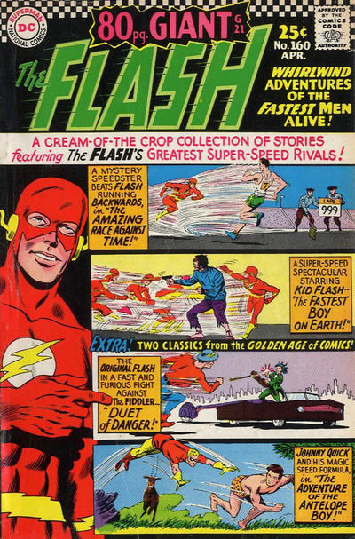 Cover for 80 Page Giant Magazine (DC, 1964 series) #G-21