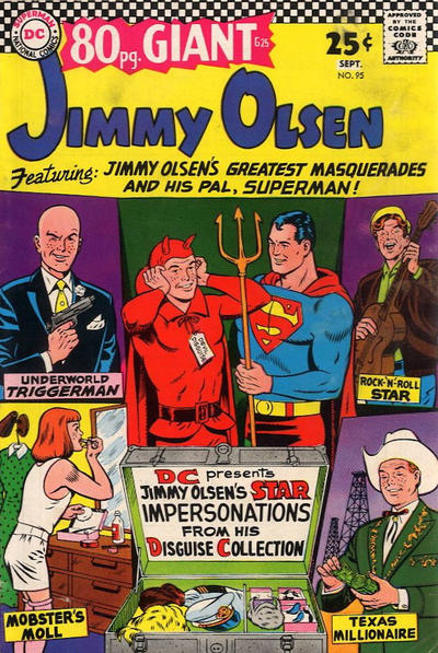 Cover for 80 Page Giant Magazine (DC, 1964 series) #G-25