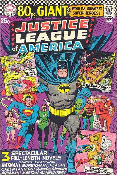 Cover for 80 Page Giant Magazine (DC, 1964 series) #G-29