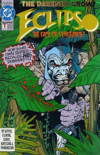Cover for Eclipso (DC, 1992 series) #1