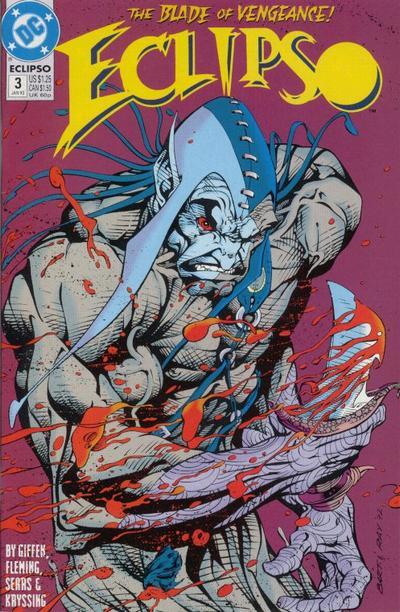 Cover for Eclipso (DC, 1992 series) #3