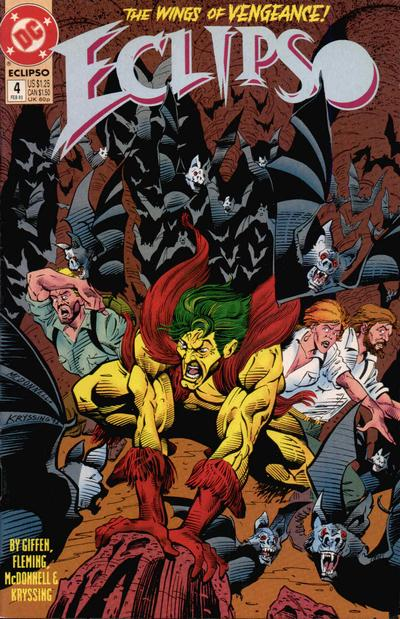 Cover for Eclipso (DC, 1992 series) #4