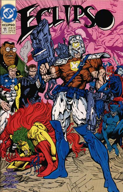 Cover for Eclipso (DC, 1992 series) #11
