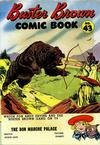 Cover for Buster Brown Comic Book (Brown Shoe Co., 1945 series) #43 [The Bon Marche Palace]