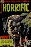 Cover for Horrific (Comic Media, 1952 series) #8