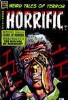 Cover for Horrific (Comic Media, 1952 series) #9
