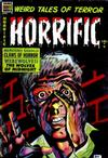 Cover for Horrific (Comic Media, 1952 series) #9
