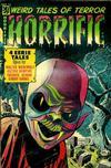 Cover for Horrific (Comic Media, 1952 series) #12