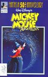 Cover for Walt Disney's Mickey Mouse Adventures (Disney, 1990 series) #9 [Direct]