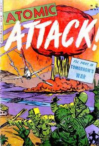 Cover Thumbnail for Atomic Attack (Youthful, 1953 series) #5