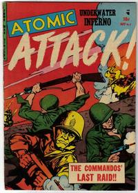 Cover Thumbnail for Atomic Attack (Youthful, 1953 series) #7