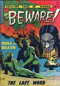 Cover for Beware (Youthful, 1952 series) #10