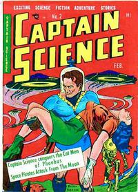 Cover Thumbnail for Captain Science (Youthful, 1950 series) #2