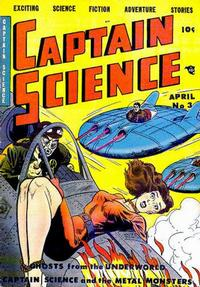 Cover Thumbnail for Captain Science (Youthful, 1950 series) #3