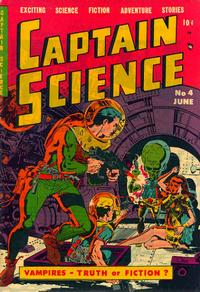 Cover Thumbnail for Captain Science (Youthful, 1950 series) #4