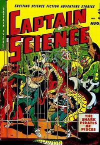 Cover Thumbnail for Captain Science (Youthful, 1950 series) #5