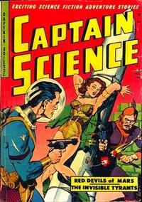 Cover Thumbnail for Captain Science (Youthful, 1950 series) #6