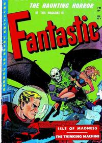 Cover Thumbnail for Fantastic (Youthful, 1952 series) #8