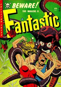 Cover Thumbnail for Fantastic (Youthful, 1952 series) #9