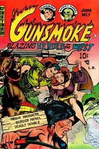 Cover for Gunsmoke (Youthful, 1949 series) #7