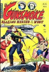 Cover Thumbnail for Gunsmoke (Youthful, 1949 series) #8