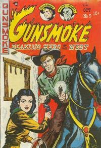 Cover for Gunsmoke (Youthful, 1949 series) #9