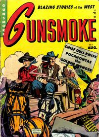 Cover Thumbnail for Gunsmoke (Youthful, 1949 series) #14