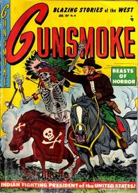 Cover Thumbnail for Gunsmoke (Youthful, 1949 series) #16