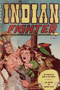 Cover Thumbnail for Indian Fighter (Youthful, 1950 series) #5
