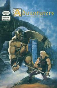 Cover Thumbnail for The Adventurers (Adventure Publications, 1986 series) #3