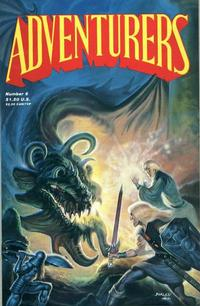 Cover Thumbnail for The Adventurers (Adventure Publications, 1986 series) #6
