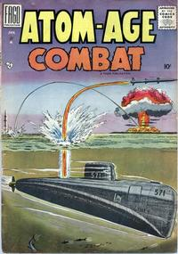 Cover Thumbnail for Atom Age Combat (Fago Magazines, 1958 series) #2